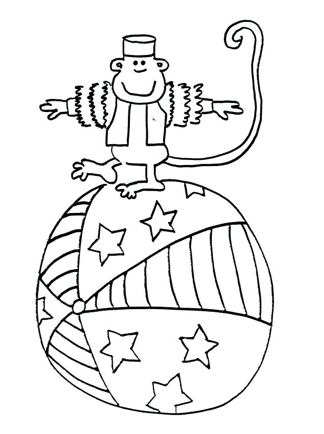 636x852 Circus Coloring Sheets Janices Daycare Circus Monkey Coloring
