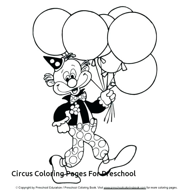 660x660 Circus Elephant Coloring Page Charming Circus Coloring Page Clown