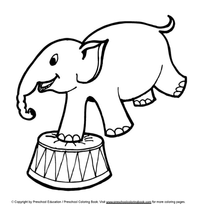 643x660 Circus Coloring Pages