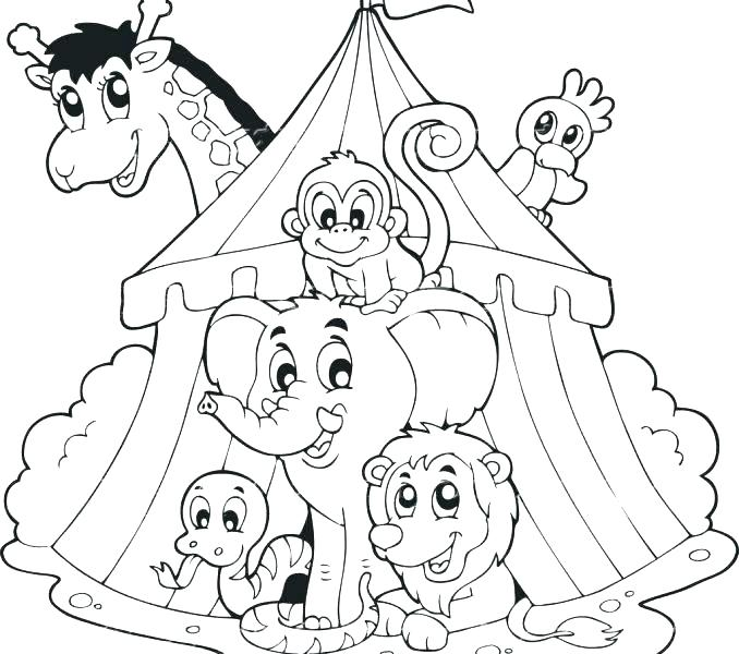 678x600 Circus Elephant Coloring Page Clown Coloring Page Clown Coloring