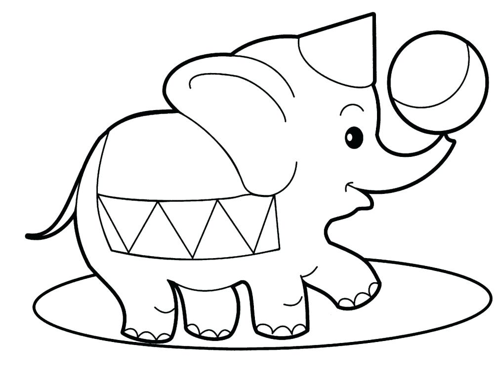1008x768 Elephants Coloring Pages Circus Elephants Coloring Pages Free
