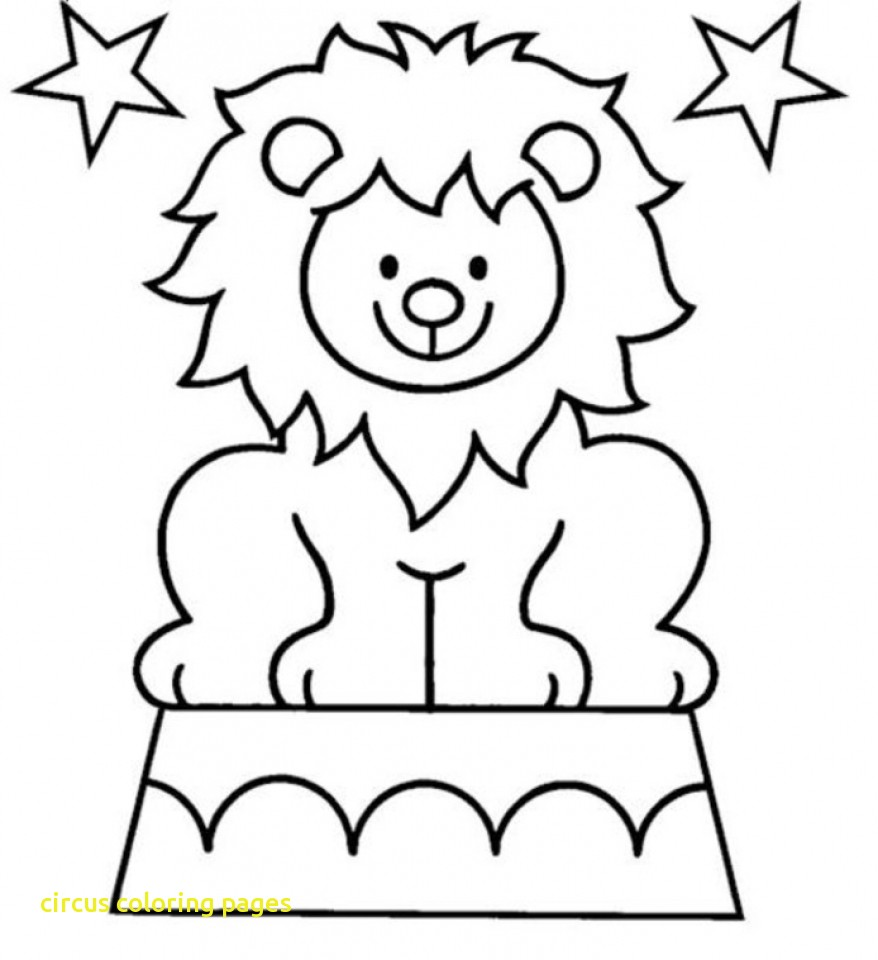878x960 Quality Circus Lion Coloring Pages With Printable