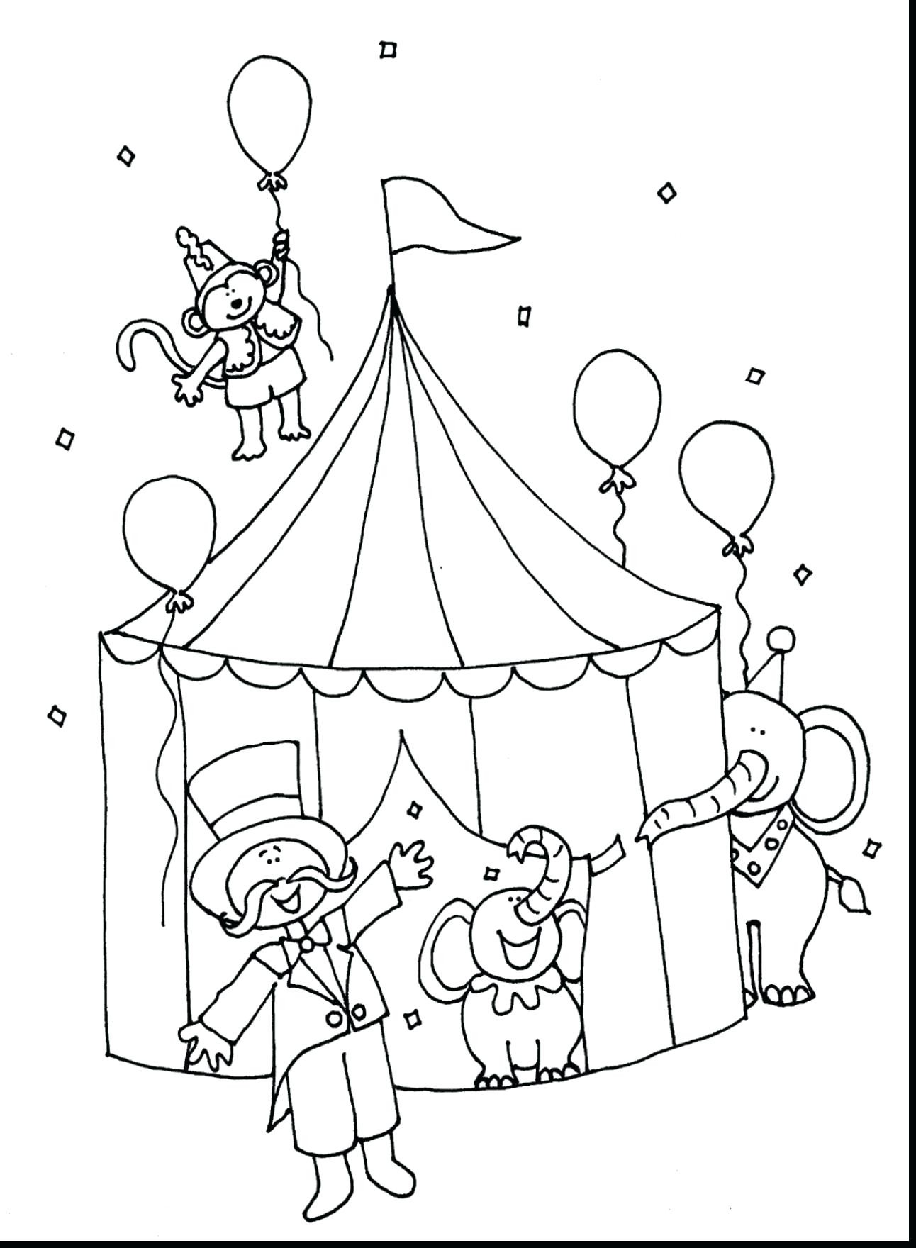 1292x1760 Spotlight Carnival Coloring Pages Preschool Circus Train