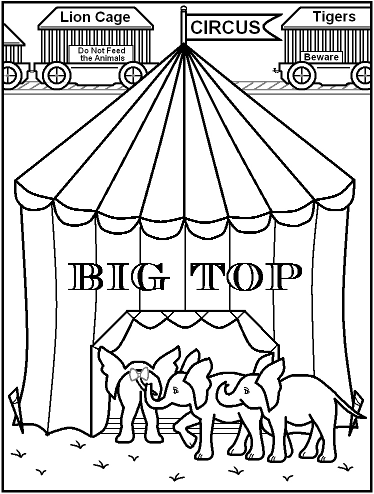 748x989 Circus Coloring Pages Beautiful Circus Tent Coloring Pages