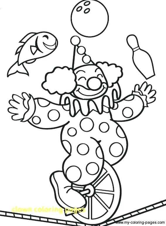 567x773 Circus Coloring Pages Cheap Circus Coloring Pages Image Clown