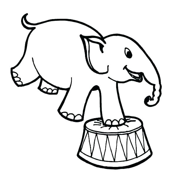600x616 Circus Tent Coloring Pages