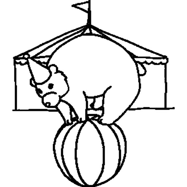 Circus Tent Coloring Pages At Getdrawings Com Free For Personal