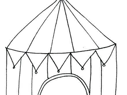440x330 Tent Coloring Page Tent Coloring Page Circus Tent Coloring Page