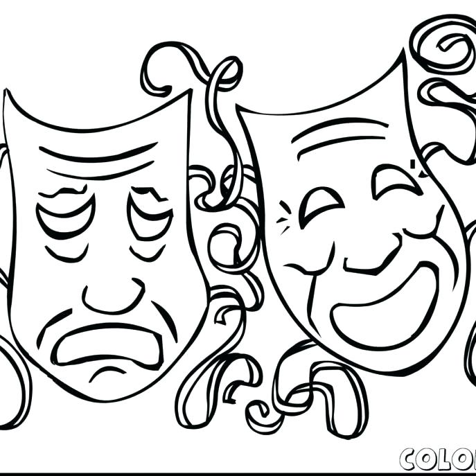 687x687 Circus Coloring Page Circus Coloring Page Circus Tent Coloring