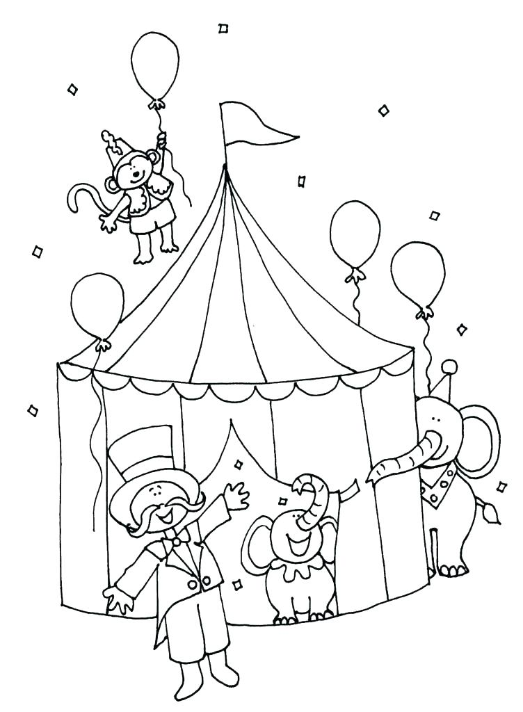 752x1024 Circus Coloring Page Luxury Circus Tent Coloring Page Crayola