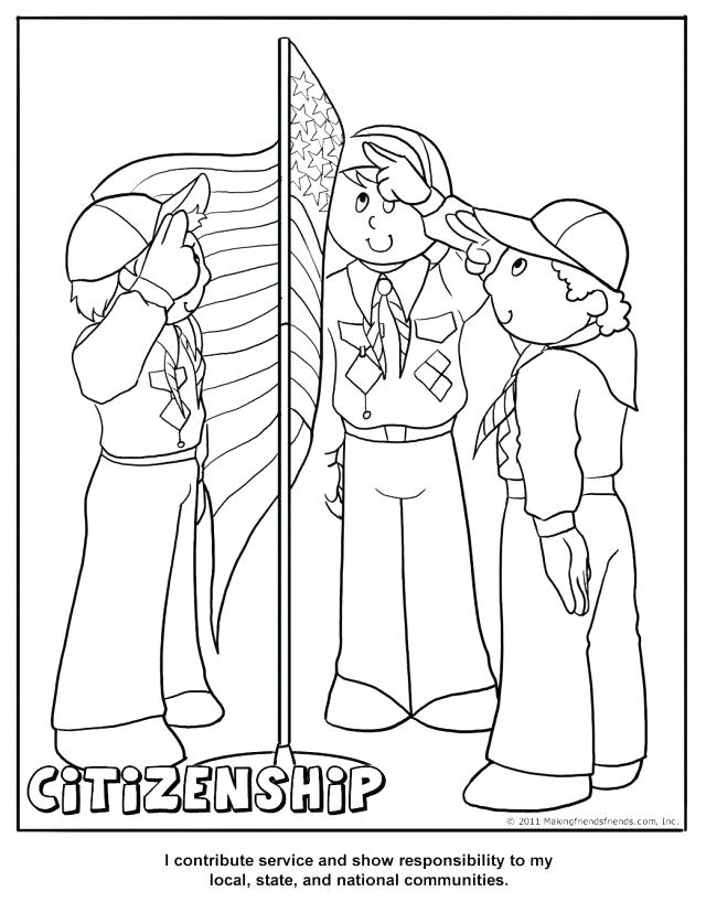 640x828 Inspiring Tiger Cub Scout Coloring Pages Cub Scout Citizenship
