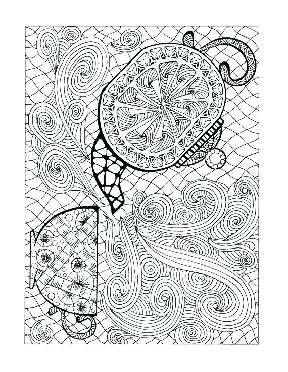 570x738 Digital Coloring Pages