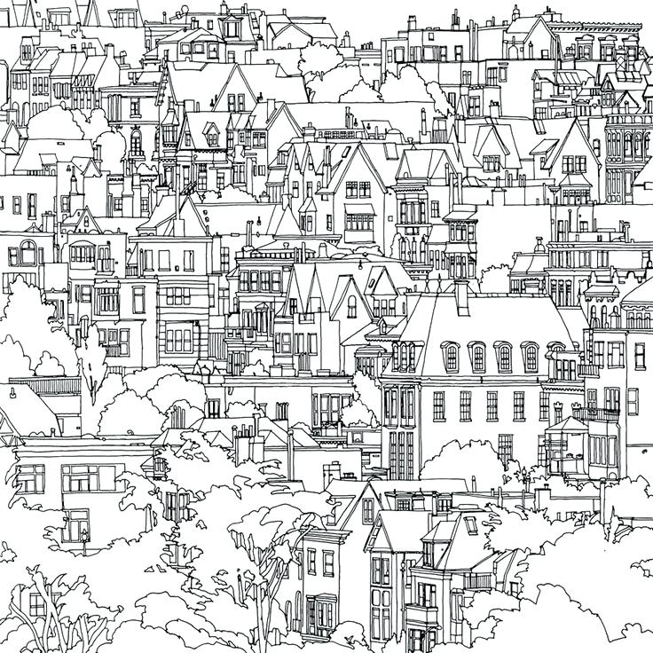 736x736 City Coloring Pages Educational Coloring Pages