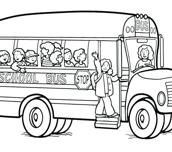678x600 Coloring Pages School Bus School Bus Coloring Pages Beautiful