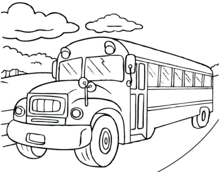 706x551 Free School Bus Coloring Pages Printable Bus Colouring Pages