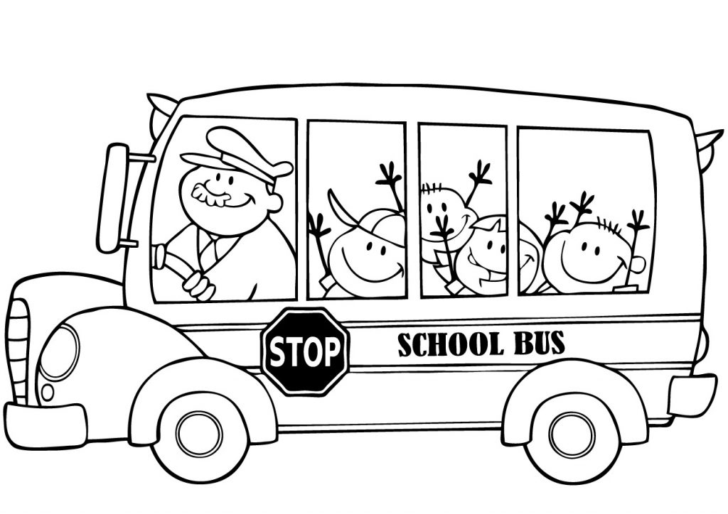1024x724 Lovely Ideas Bus Coloring Page School Bus Coloring Pages For Boys