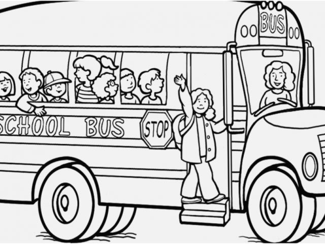 640x480 School Bus Coloring Page Gallery Colorful Bus Coloring Sheet