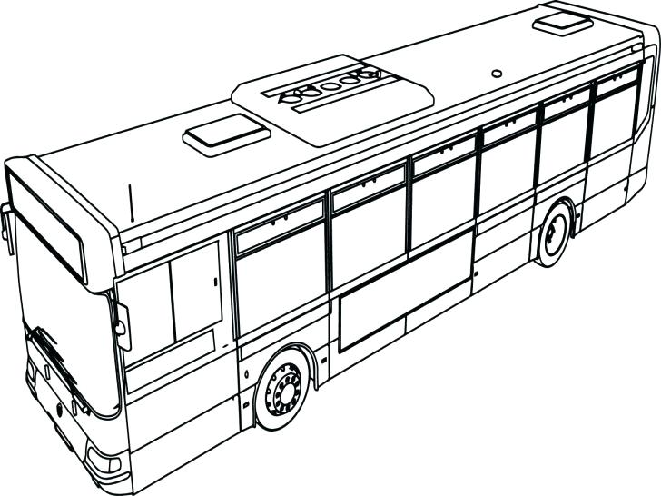 728x546 City Bus Coloring Page