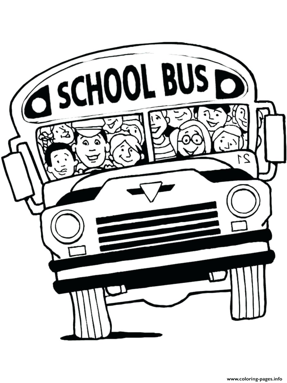 936x1248 Coloring Pages School Bus Coloring Page Superb Printable Pages