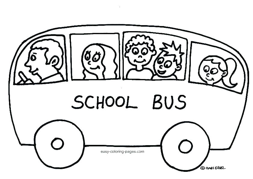 842x598 Bus Coloring Page School Bus Color Page Printable S Free Printable