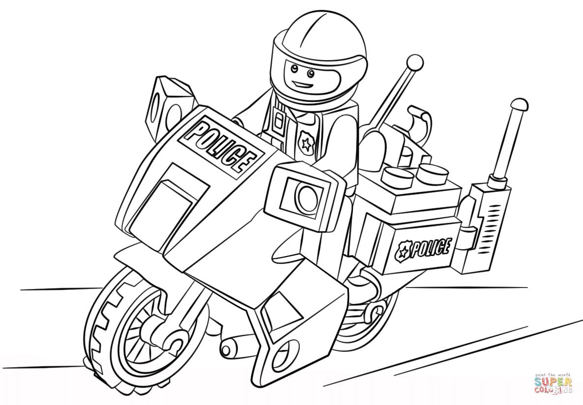 1186x824 Lego City Coloring Pages