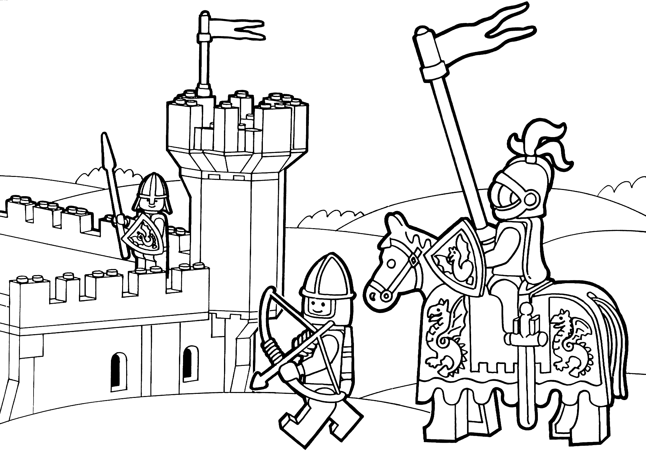 2079x1483 Awesome Lego City Coloring Pages Coloringsuite Free Coloring
