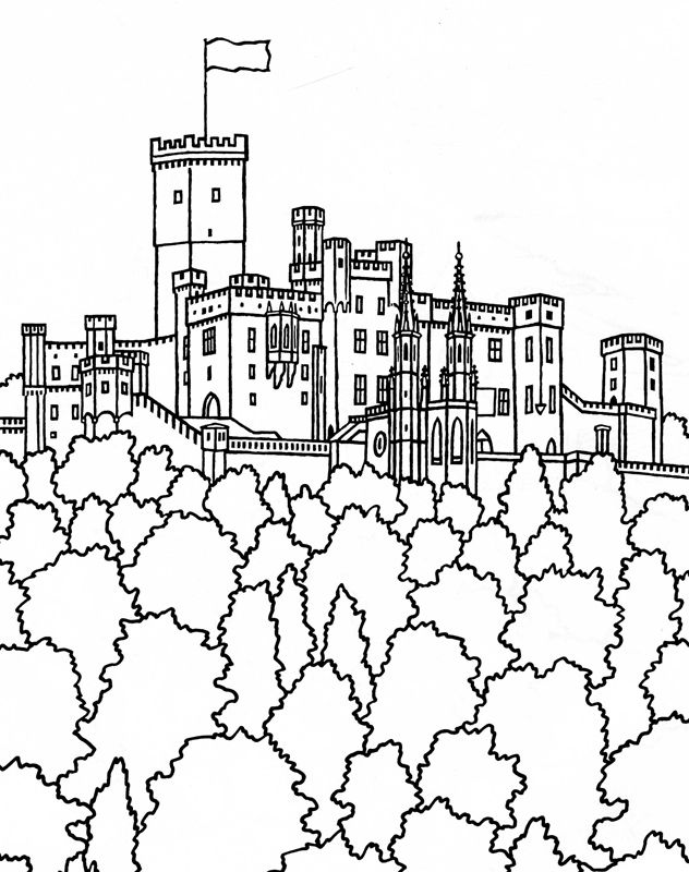 632x800 Best Castles And Such Images On Coloring Books
