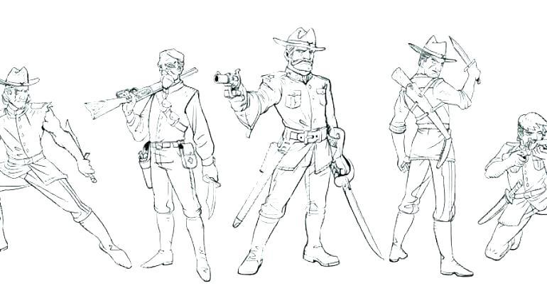 770x430 Civil War Coloring Pages Civil War Coloring Pages Civil War Dress