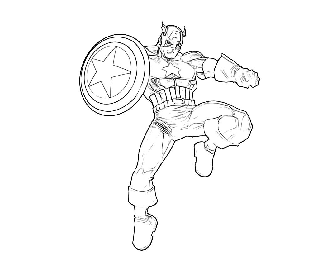 1050x875 Amazing Captain America Civil War Coloring Pages For Your