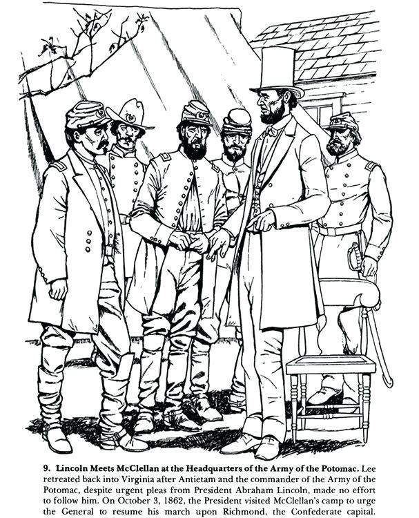 607x750 Civil War Coloring Pages Civil War Coloring Pages Flags