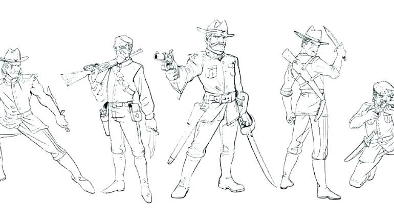 770x430 Civil War Coloring Pages War Coloring Pages Civil War Coloring