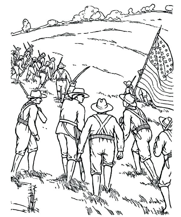 600x720 Coloring Civil War Coloring Page Pages Flags Kids Star Wars