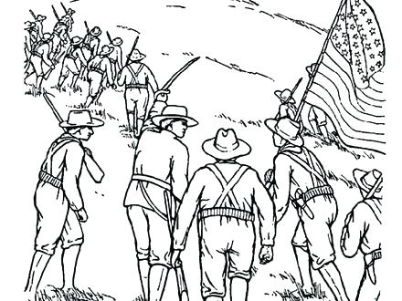 440x330 Civil War Coloring Pages Civil War Coloring Pages Civil War