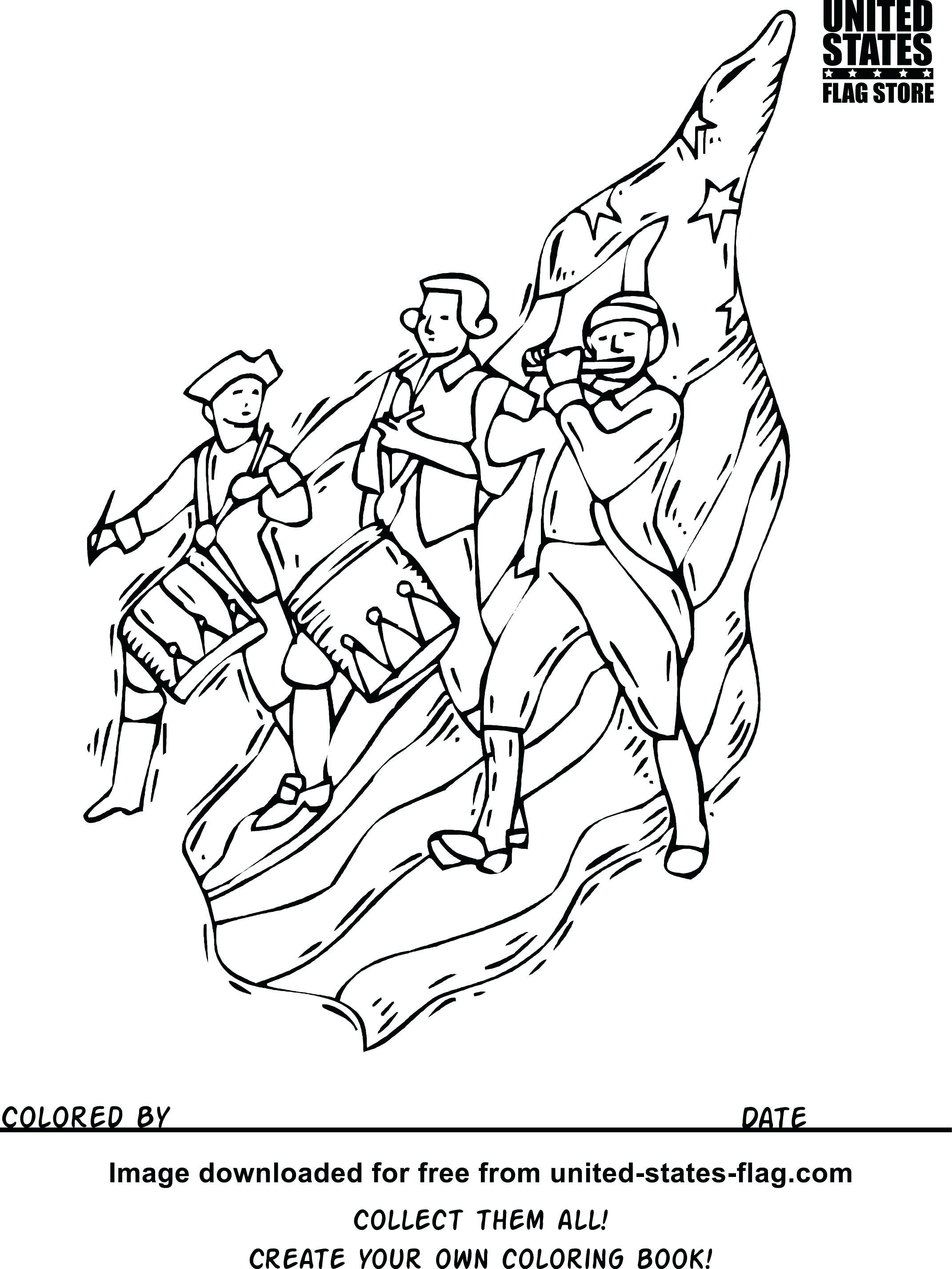 Civil War Soldier Coloring Page at GetDrawings | Free download