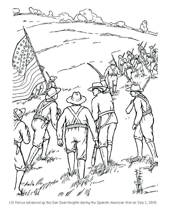 670x820 Civil War Coloring Page Cool Civil War Coloring Pages Online