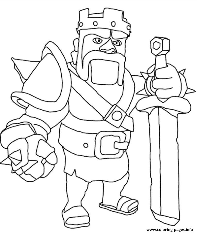764x906 Free Clash Of Clans Coloring Pages Collection