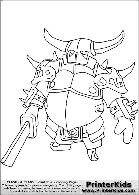 Clash Royale Coloring Pages At Getdrawings Com Free For Personal