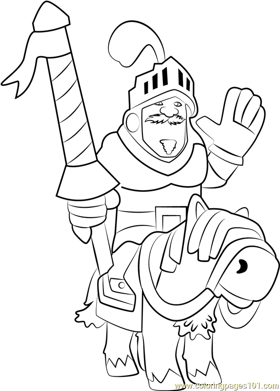 574x800 Prince Coloring Page