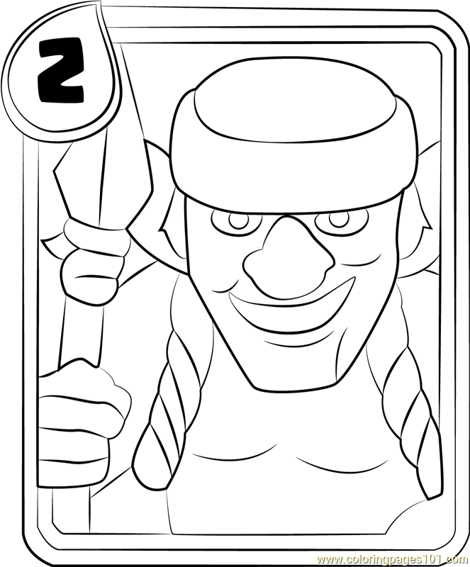 Clash Royale Coloring Pages At Getdrawings Free Download