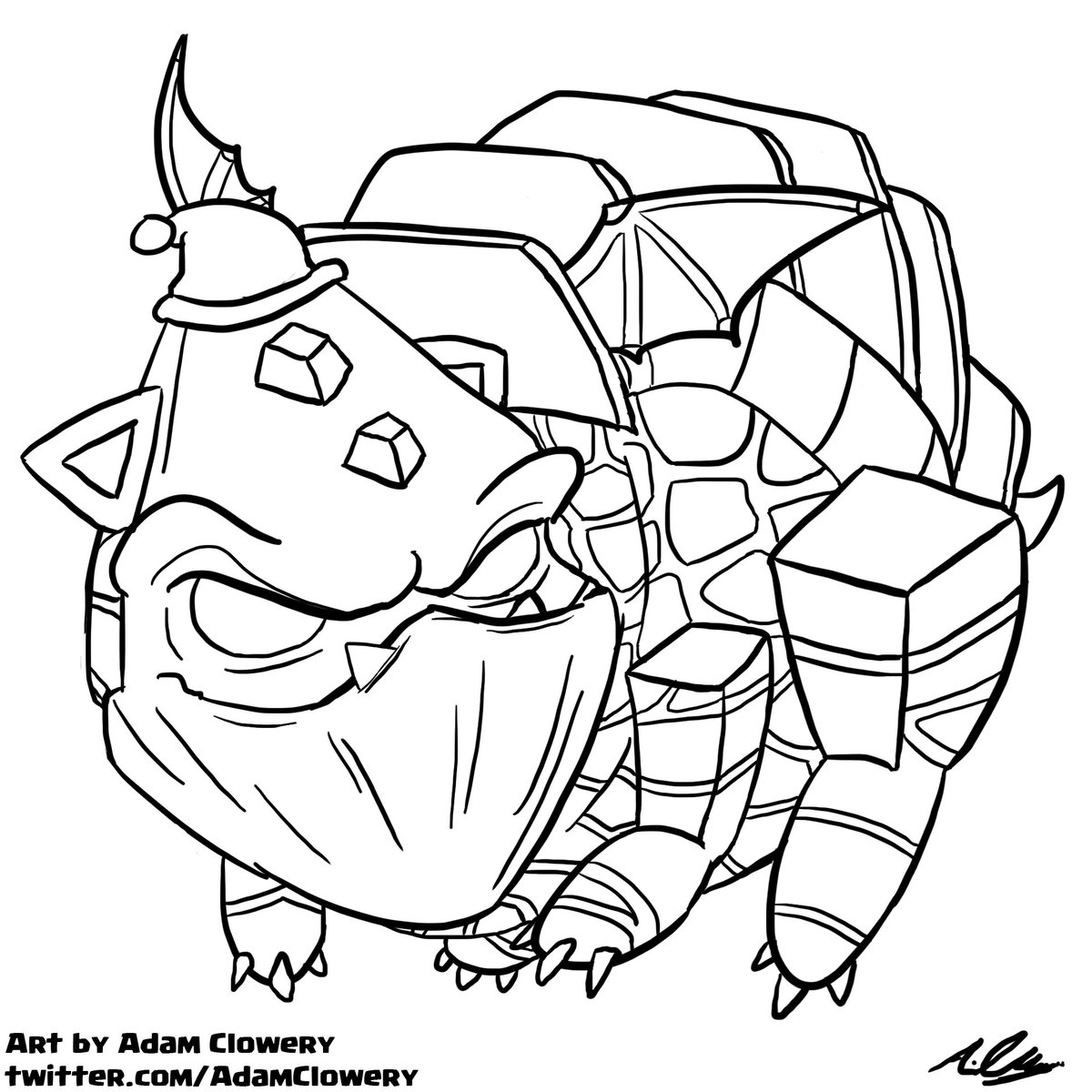 1200x1200 Complete Clash Royale Coloring Pages Hound Dra