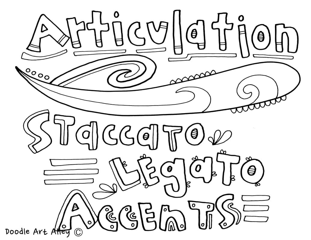 1035x800 Coloring Pages For Music Class Best