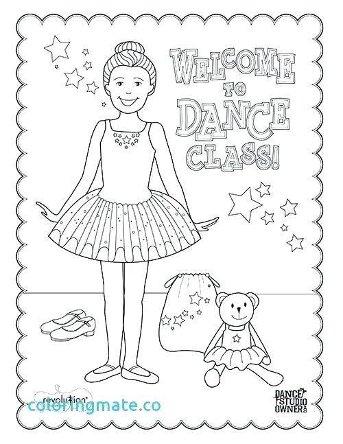 500x647 Dance Coloring Pages Tap Dance Coloring Pages Dancer Coloring