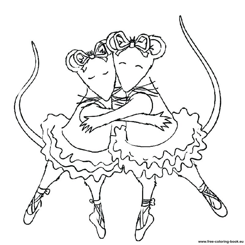 800x800 Best Ballerina Coloring Pages Top Coloring Unknown Free Coloring