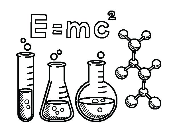 600x470 Chemistry Coloring Pages Chemistry Class Coloring Page Chemistry