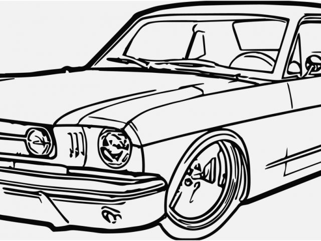 640x480 Classic Car Coloring Pages Images Classic Car Coloring Pages