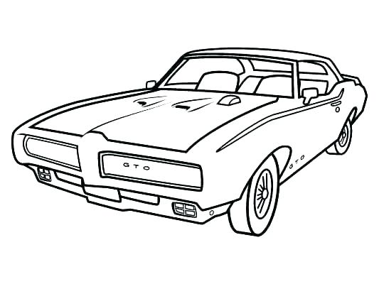 533x400 Classic Cars Coloring Pages Coloring Pages Of Classic Cars