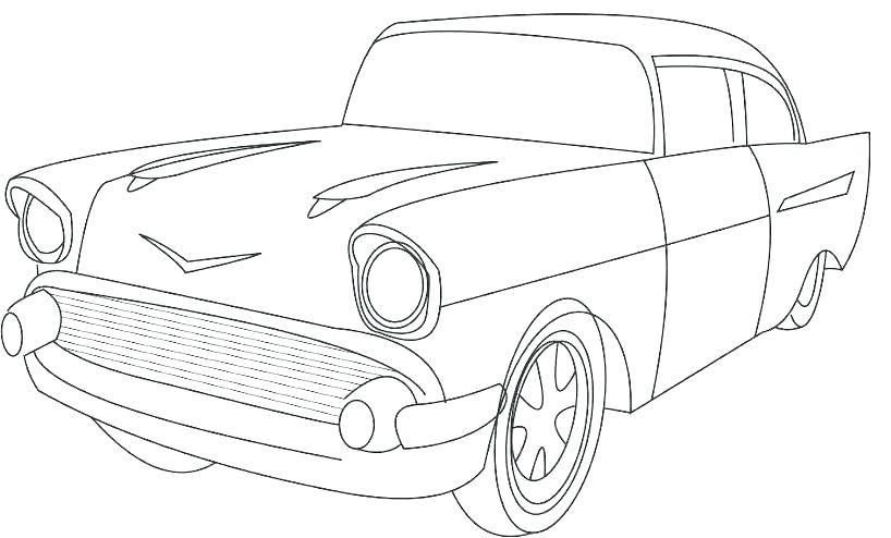 The best free Classic car coloring