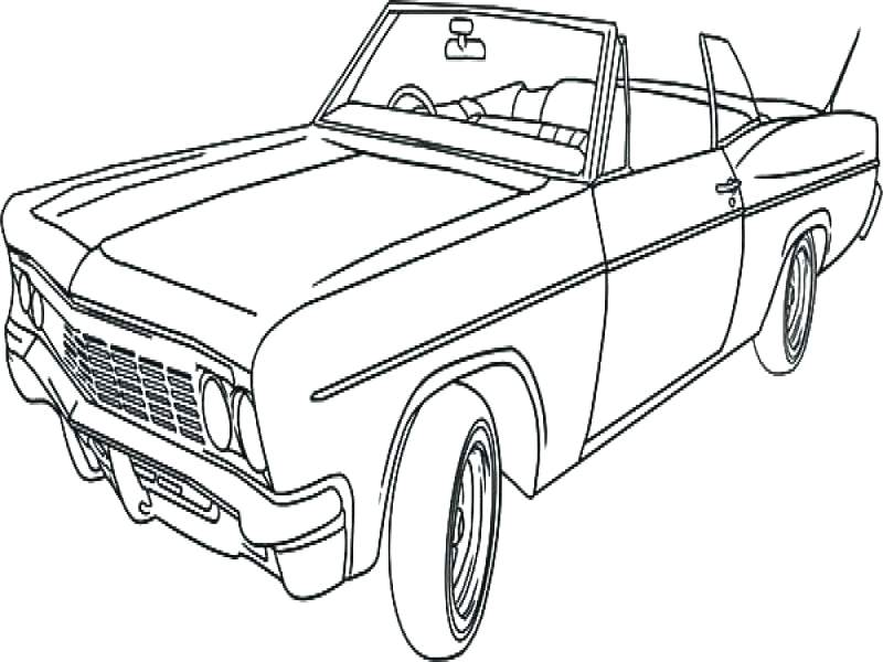 800x600 Classic Car Coloring Pages And Rod Coloring Pages Free Classic
