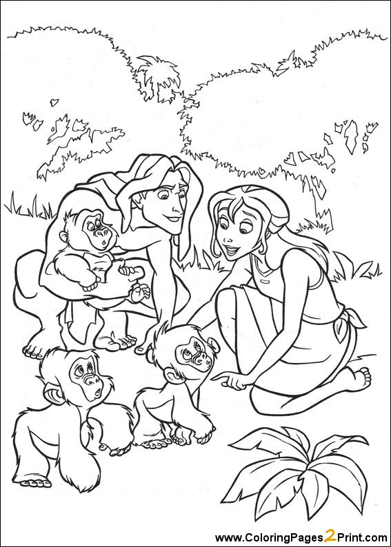 567x794 Disney Characters Coloring Pages