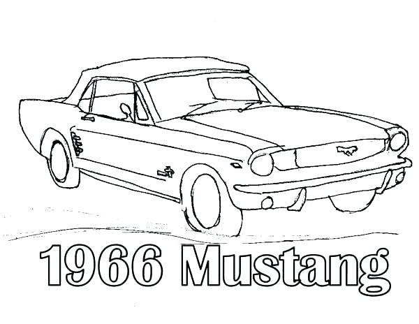 600x464 Classic Car Coloring Pages
